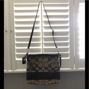 Coach *authentic* signature canvas purse